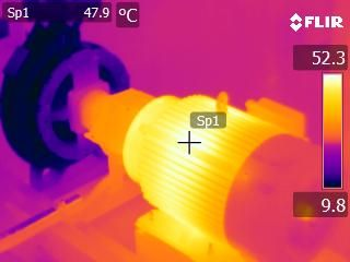 Infrared thermography method